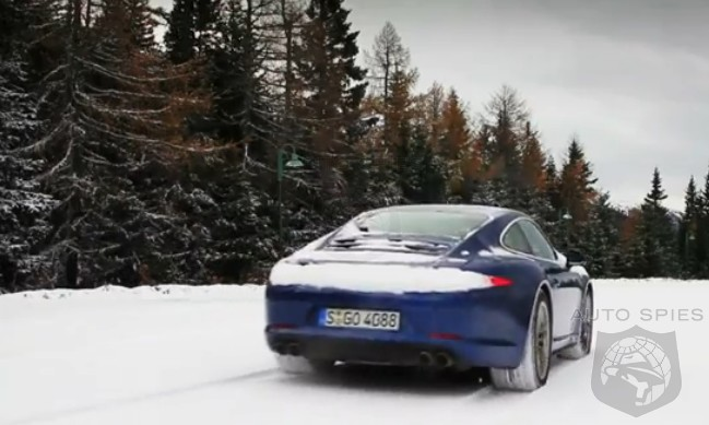 VIDEO + DRIVEN: Porsche's All-New 911 (991) Carrera 4S Gets A Wet Workout