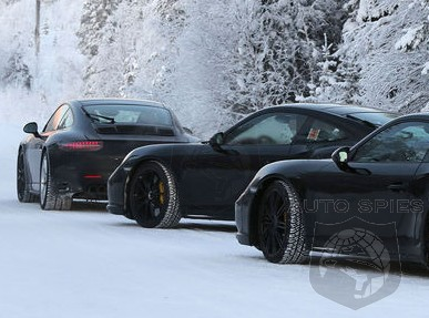SPIED: Can YOU Spot The Changes? Porsche ALREADY Doing A Facelift On The 911 (991)? FIRST Shots Here!
