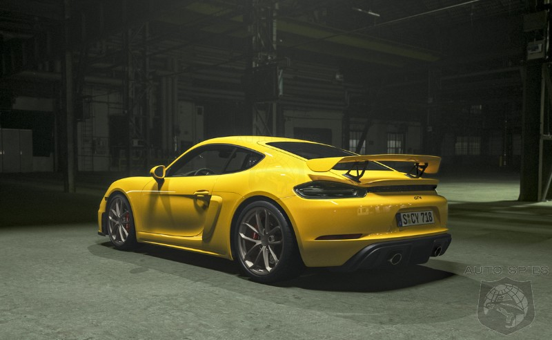 WHOA! RUMORS Suggest Two Special Letters May Be On The Horizon For The Refreshed Porsche 718 Cayman GT4 — RS