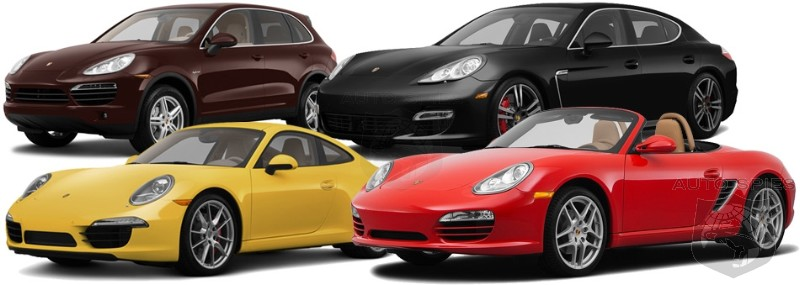 CAR WARS? How Many People Shopping For A Porsche 911 Actually Wind Up Going Home With A Panamera?