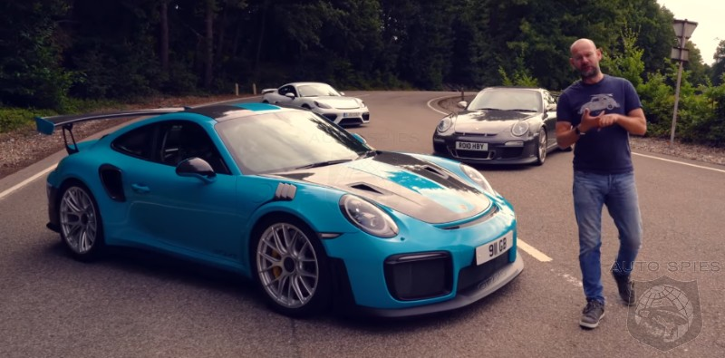 DRIVEN + VIDEO: WHICH Porsche GT Car Is The BEST? GT2 RS vs. GT3 RS vs. All-new Cayman GT4