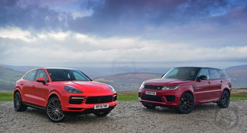 SUV WARS! WHO Wins When You Put A Porsche Cayenne Coupe And A Range Rover Sport Head-to-Head?