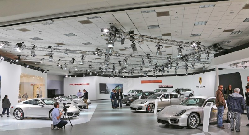 LA AUTO SHOW: And The Award For The COOLEST Booth In The City Of Angels Goes To...