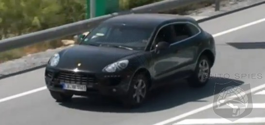 SPIED + VIDEO: Porsche's Upcoming Macan Gets Spotted In Action - Look Out Evoque?