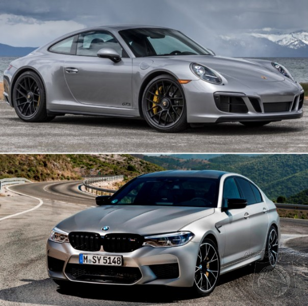 CAR WARS! Unexpected Rivals? Would YOU Skip The Porsche 911 C4S For A BMW M5 Competition?