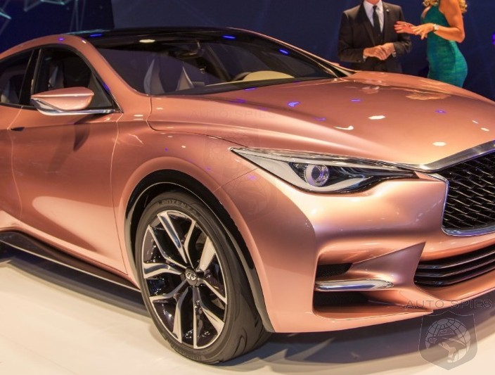 FRANKFURT MOTOR SHOW: STUD OR DUD — Has Infiniti's NEW Design Language Translated Into GOLD Or More Like COAL?