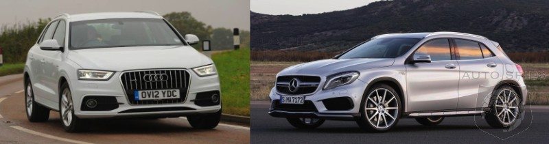 NEW YORK AUTO SHOW: CAR WARS! Audi Q3 vs. Mercedes-Benz GLA