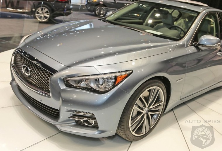 CHICAGO AUTO SHOW: Take II! Another Look At Infiniti's All-New Q50