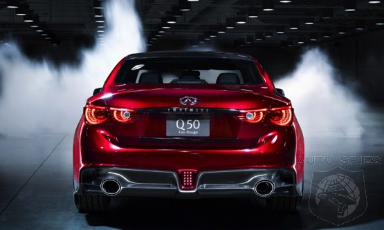 Question Of The Day: WHY Is Everyone So Stupid And SURPRISED The Infiniti Q50 Eau Rouge Would Cost OVER $100k?