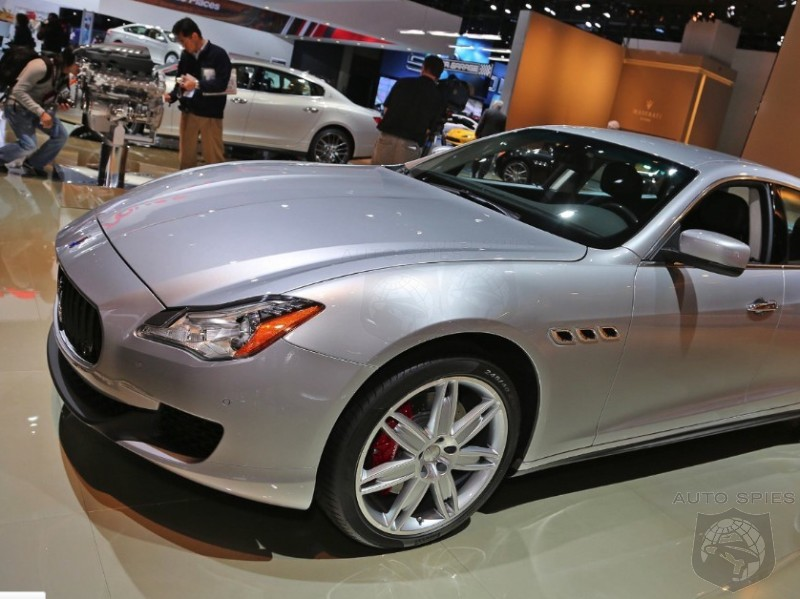 DETROIT AUTO SHOW: Maserati's All-New Quattroporte Makes Its WORLD Premiere In The Motor City Aiming To Take Down The Panamera, XJ
