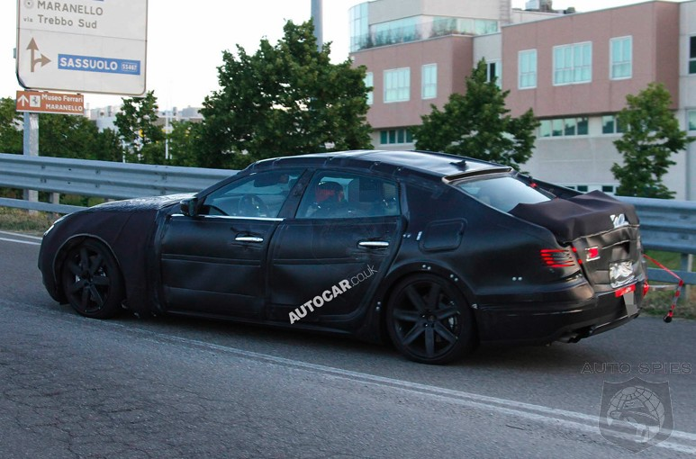 SPIED: So, The Internet Rumormill Is Confused About The Next-Gen Maserati Quattroporte's Motor - What's It Sound Like To YOU?