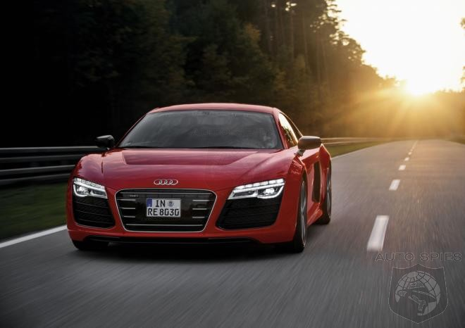 CONFIRMED: Audi Axes The R8 e-Tron, FINALLY A Manufacturer Backs Of Electric Tech