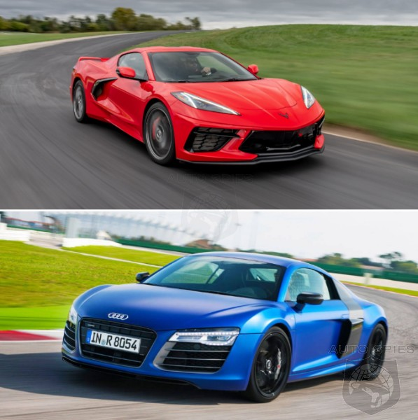 CAR WARS! WHICH Would You Rather? A 2020 Chevrolet Corvette OR A Used Audi R8?