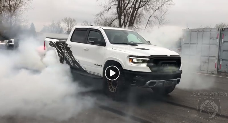 EXTREME RAM MAKEOVER: Video Gives Us Just A TASTE Of What A Hellcat-swapped RAM 1500 Rebel Is Like