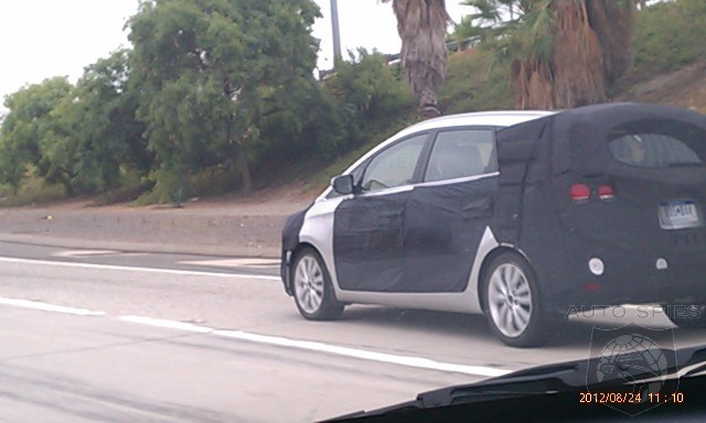 spied: an auto spy catches something weird on the road