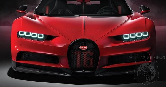 RUMOR: Coming To Pebble Beach, An All-new Bugatti Chiron That's Such A Diva, It's Called The Divo
