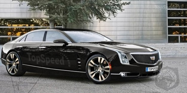 RENDERED SPECULAITON IF Cadillac s All New Flagship Looks THIS Good Does It Have A Fighting Shot