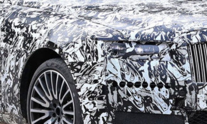 SPIED: NEW Photos And NEW Details Emerge About The 2021 Rolls-Royce Ghost