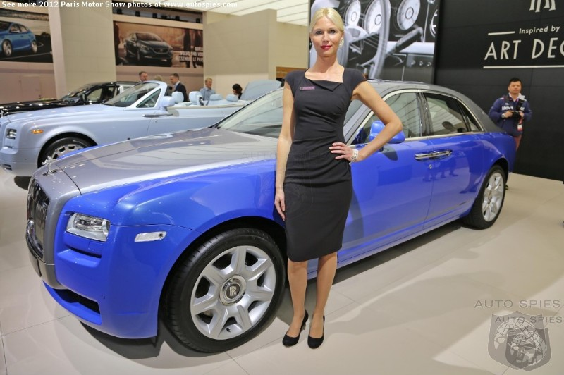 PARIS MOTOR SHOW: Rolls-Royce Invades Paris With The Art Deco Movement
