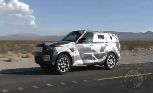 SPIED + VIDEO: The All-New 2014 Range Rover SPORT Is Filmed In Action + Its INTERIOR Exposed!