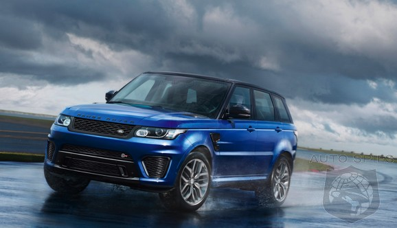PEBBLE BEACH: VIDEO — The Fastest Land Rover Range Rover EVER Produced