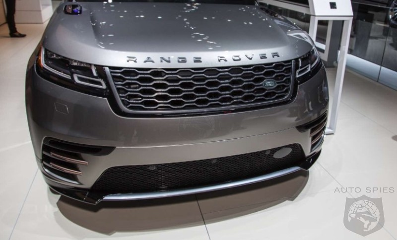 #NYIAS: Land Rover's All-New Range Rover Velar Makes An Appearance In The Empire State