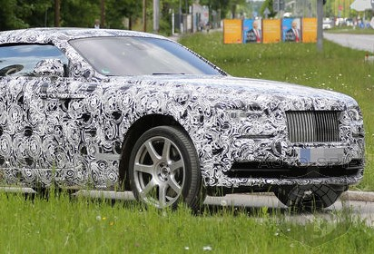 SPIED: It Looks Like The Upcoming Rolls-Royce Wraith Convertible Will Have A Chop Top