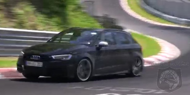 SPIED + VIDEO: Audi's All-New RS3 Nabbed Getting Exercise With Its 2.5-Liter 5-Cylinder HOWLING