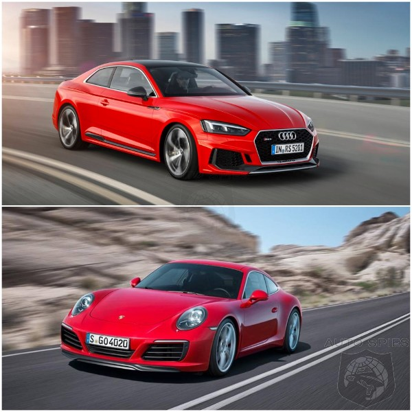 CAR WARS! All-new Audi RS5 vs. Porsche 911 Carrera PDK — WHICH and WHY?