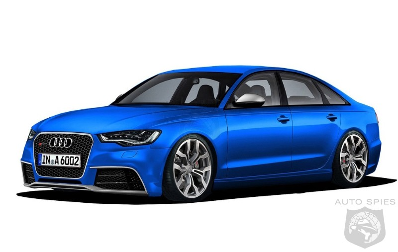 MORE 2012 Audi A6 Shots PLUS The First RS6 Rendering