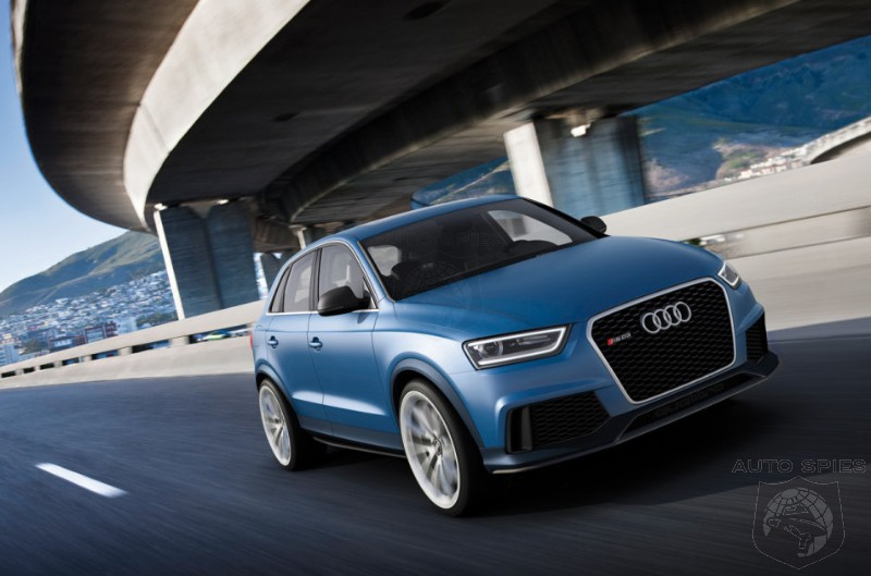 beijing motor show  new images and new information surface - audi u0026 39 s rs q3