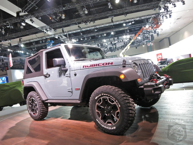 LA AUTO SHOW: EXCLUSIVE Shots From The Floor - Jeep To Unveil Special Rubicon