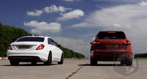 CAR WARS! Drag Race Edition: Mercedes-Benz S63 AMG vs. Porsche Cayenne Turbo S