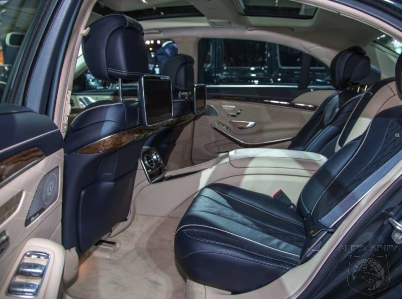 NEW YORK AUTO SHOW Has Audi s BEST Interior Stranglehold FINALLY Been Broken Check Out This Mercedes S Class Interior By Designo