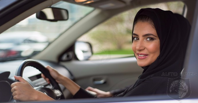 VIDEO: History Is Made In Saudi Arabia As The FIRST Women's Driver's License Is Issued