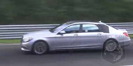 SPIED + VIDEO: NOTHING To Hide Anymore, Mercedes-Benz's S-Class Maybach WORKS The Ring — Bentley Should Be WORRIED