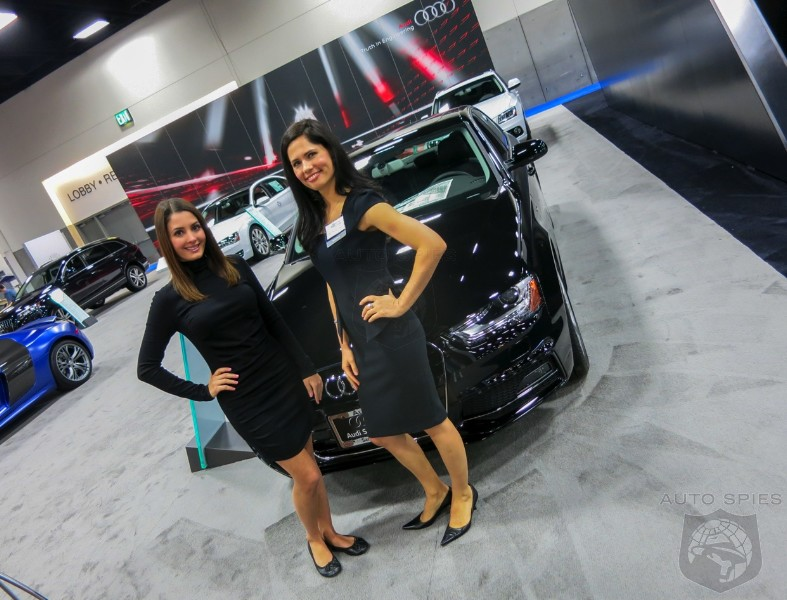 SAN DIEGO AUTO SHOW HOT Cars Come To The HOTTEST City In America - Sd car show