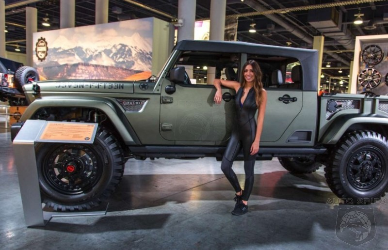sema awesome  awful    rag top jeeps  push  boundaries studs  duds