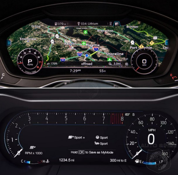 Car Wars Tech Showdown Who Currently Makes The Best Instrument Panel Today Autospies Auto News