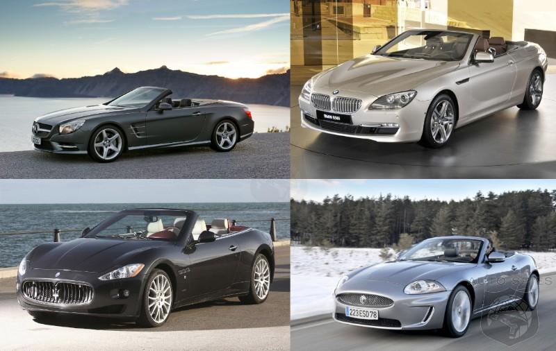 Drop Tops Square Up Mercedes Benz Sl Vs Bmw 6 Series Vs
