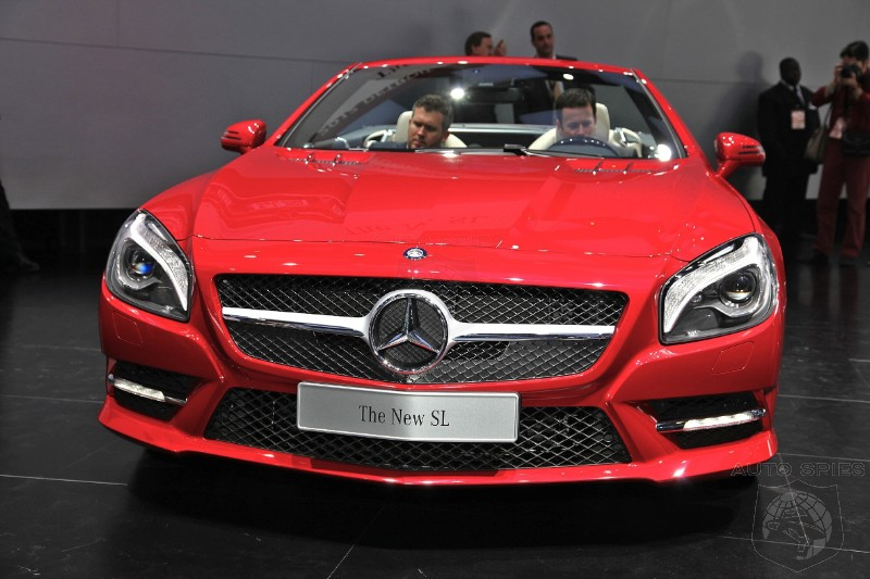 DETROIT AUTO SHOW: 001 Captures ALL Of The Brand New Mercedes-Benz SL's Nooks And Crannies