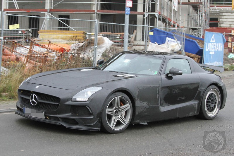 SPIED: NEW Photos Of Mercedes-Benz's SLS AMG BLACK Series Show NEVER Before Seen Details