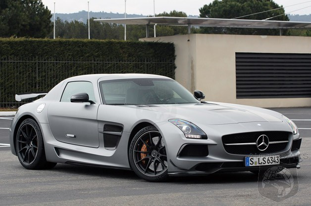 It S Official Mercedes Benz S Sls Amg Black Series Is