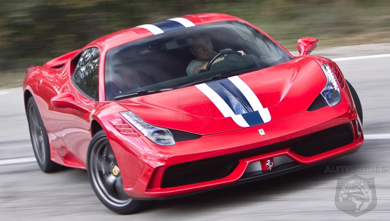 RUMOR: Ferrari Set To BUILD A 458 Speciale Spider, Was Shown At Pebble Beach