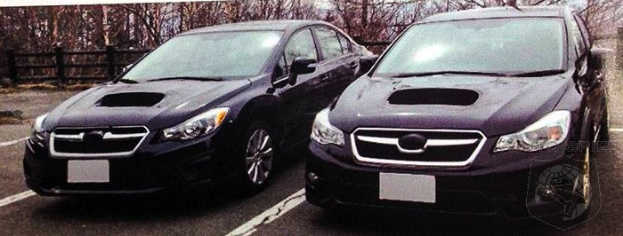 SPIED! Subaru's Next-Gen Impreza WRX AND STI Snapped During Testing