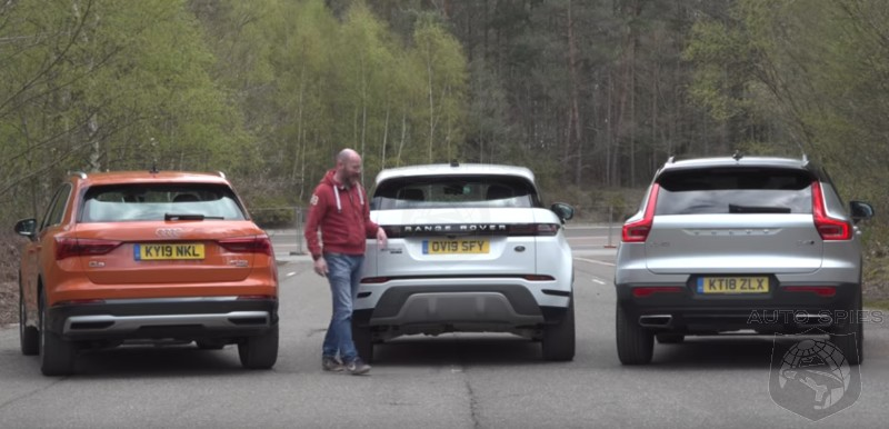 SUV WARS! How Does The All-new Range Rover Evoque Do Against The Audi Q3 And Volvo XC40?