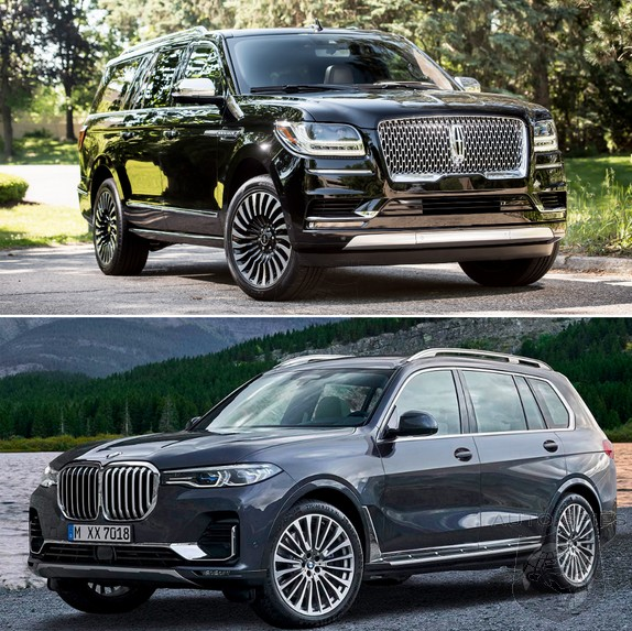 Bmw X7 2018: 7-seater SHOWDOWN: BMW X7 Vs. Lincoln Navigator