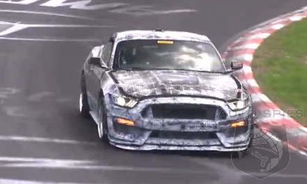 SPIED + VIDEO: If YOU Thought The All-New CTS-V Sounded MEAN, Just WAIT Until YOU Hear The Ford Mustang SVT's Engine