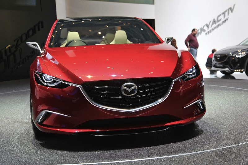 GENEVA MOTOR SHOW: If The Next-Gen Mazda 6 Looks THIS Good, Who Will It STEAL Sales From?