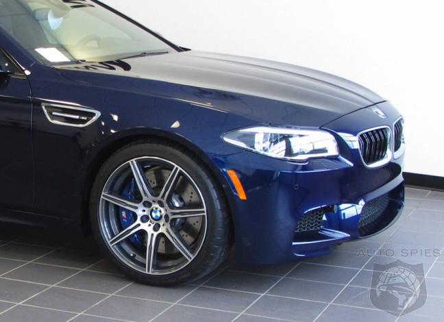 [UPDATED] Color Me BLUE With Envy? An All-New BMW M5 Owner Takes Delivery Of An Individual Car